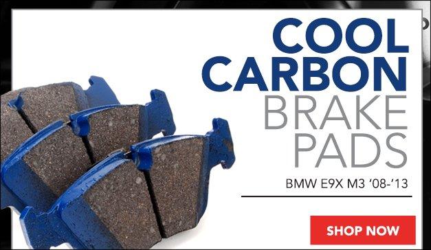 BMW E9X M3 Cool Carbon Brake Pads