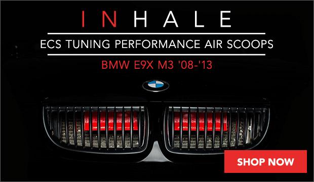 BMW E9X M3 ECS Performance Air Scoops