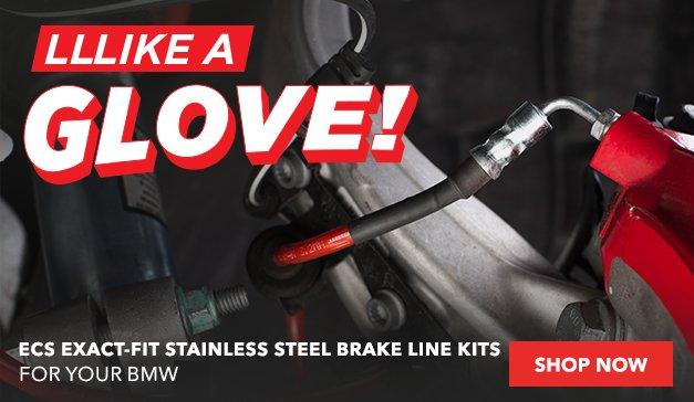 ECS Exact-Fit Stainless Steel Brake Line Kits