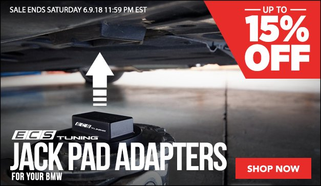 Up to 15% Off - ECS Jack Pad Adapters - BMW