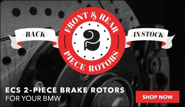 BACK IN STOCK - ECS 2PC Rotors