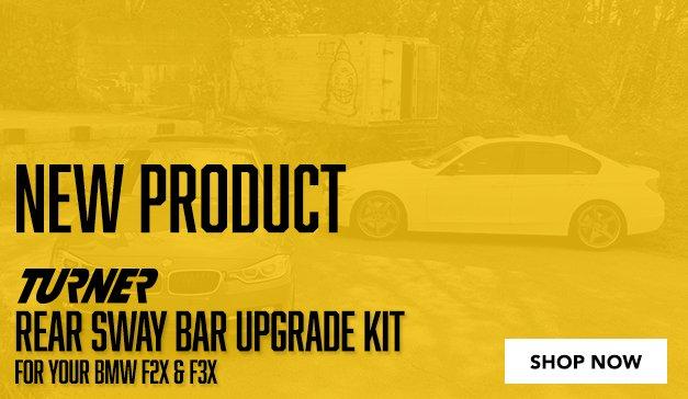 BMW - F2X/F3X -Turner Rear Sway Bar Upgrade