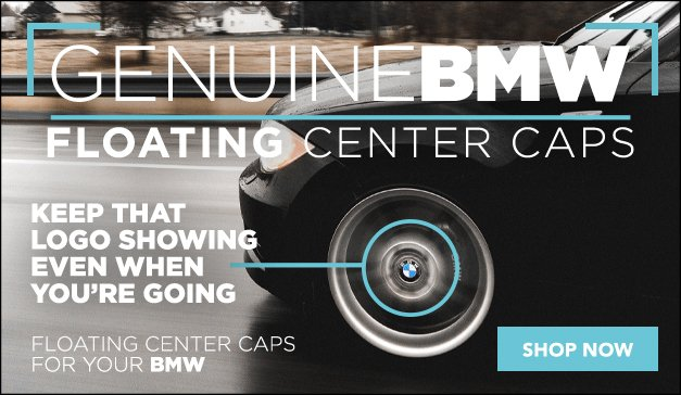 BMW - New Genuine Floating Center Caps