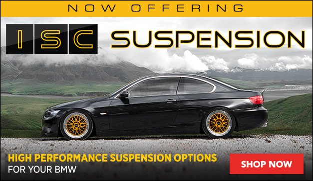 Now Offering - ISC Coilovers