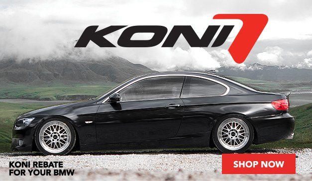 Koni Rebate! Get up to $70 back!