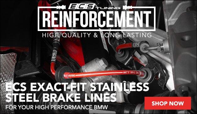 ECS Exact-Fit Brake Lines | BMW M3