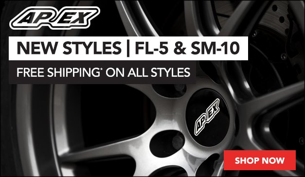 New APEX Wheel Styles for your BMW