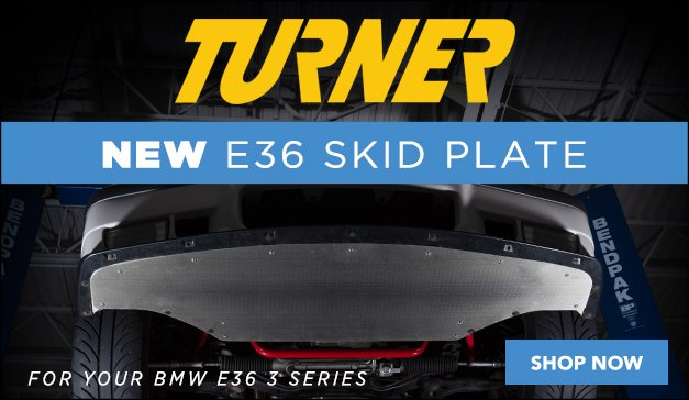 BMW E36 - New Turner Motorsport E36 Skid Plate