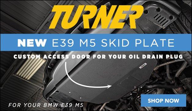 BMW E39 - New Turner Motorsport E39 Skid Plate