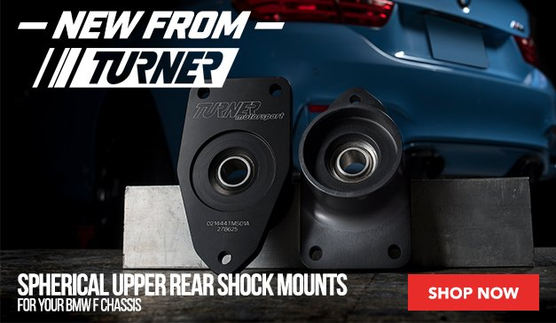 NEW Turner Spherical Upper Rear Shock Mounts