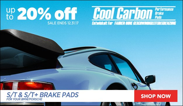 Cool Carbon Brake Pads | BMW and Porsche