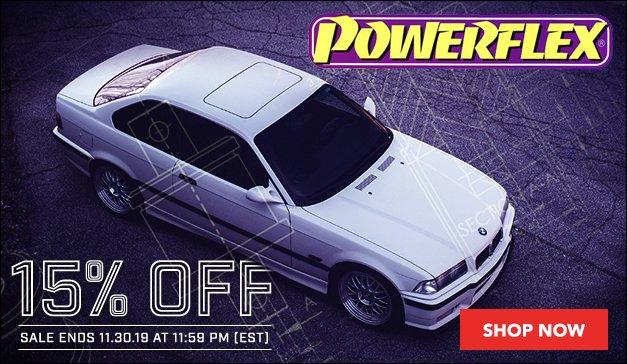 BMW - 15% Off Powerflex