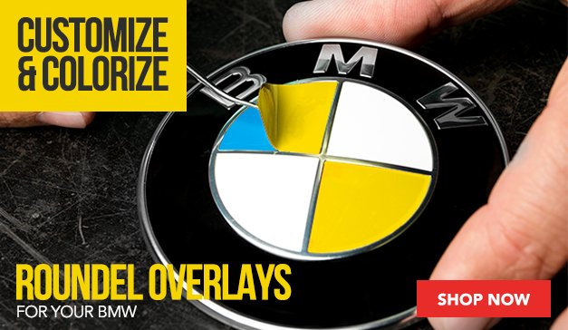 Roundel Overlay for your BMW