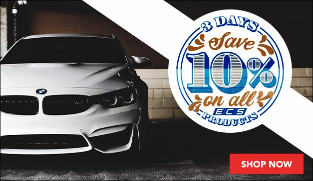 BMW - 10% Off All ECS Products