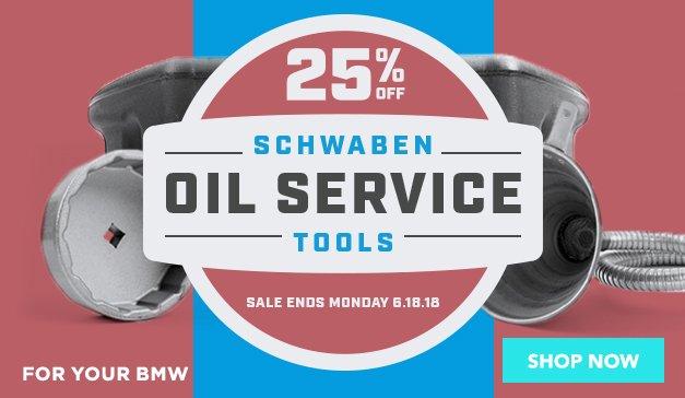 BMW - 25% off Schwaben Oil Service Tools