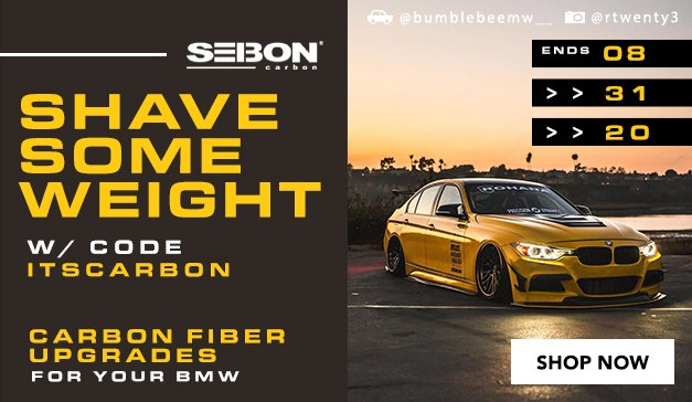 BMW - SEIBON CARBON FIBER UPGRADES