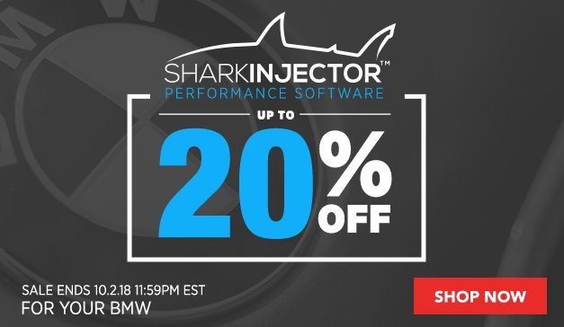 Up to 20% Off Turner Shark Injectors