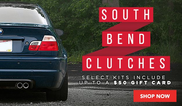 South Bend Clutches + Up to $50 ECS Gift Card