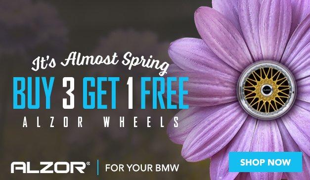 BMW - Buy 3 Get 1 Free ALZOR