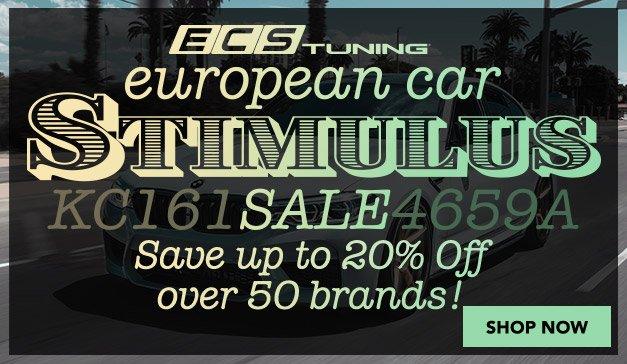 BMW - Stimulus Sale