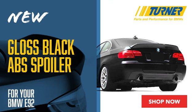 BMW - New Turner E92 ABS High Kick Spoiler