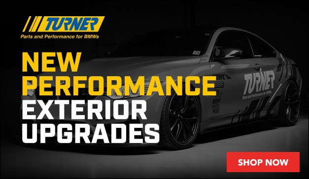 BMW - Up To 15% Off Turner Performance Exterior Upgrades