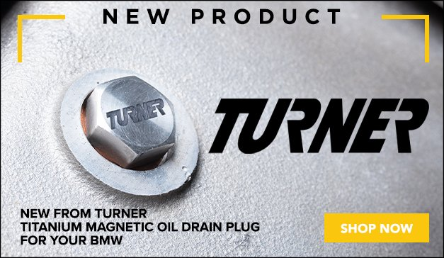 BMW - New Turner Titanium Magnetic Oil Drain Plug
