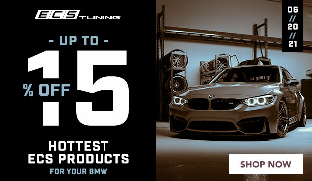 BMW - UP TO 15% OFF ECS Performance Products