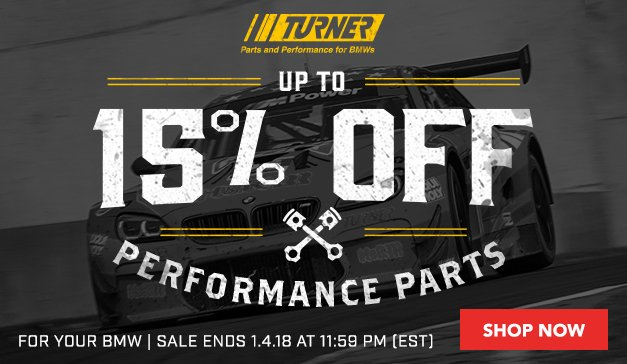 Up to 15% Off Turner Performance Parts