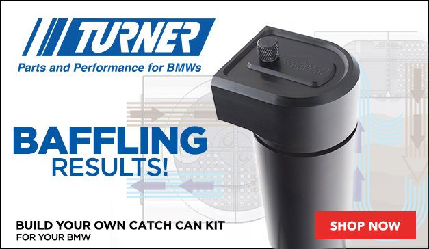 Turner Build Your Own Catch Can Kit