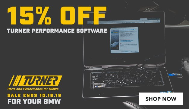 BMW - 15% Off Turner Performance Software