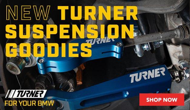 BMW - New Turner Performance Adjustable Suspension Upgrades