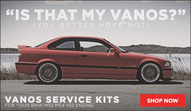 Complete VANOS Service Kit for your BMW