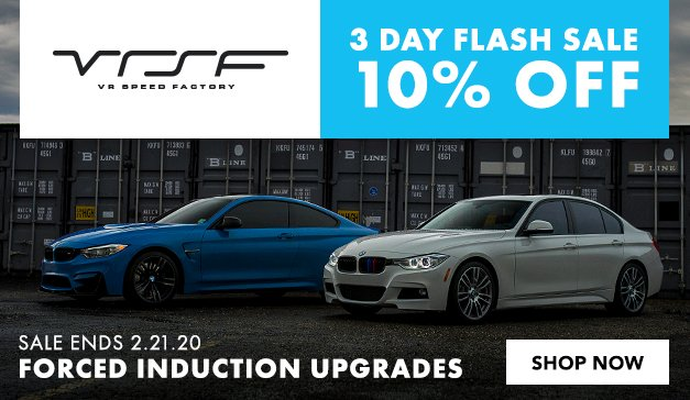 BMW - 10% OFF - VRSF Forced Induction Upgrades