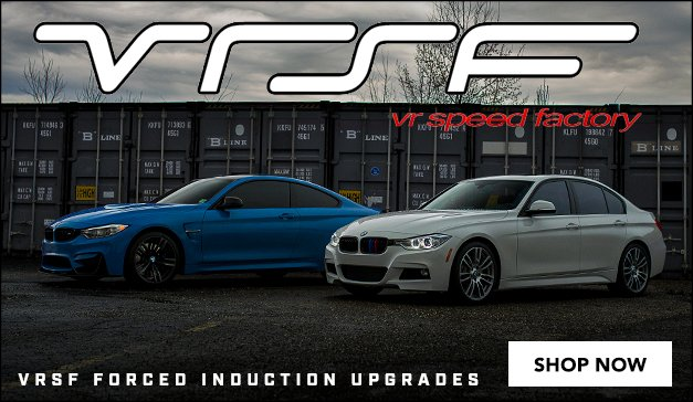 BMW - Now Offering VRSF Forced Induction Upgrades