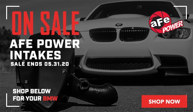 BMW - aFe Power Intakes SALE