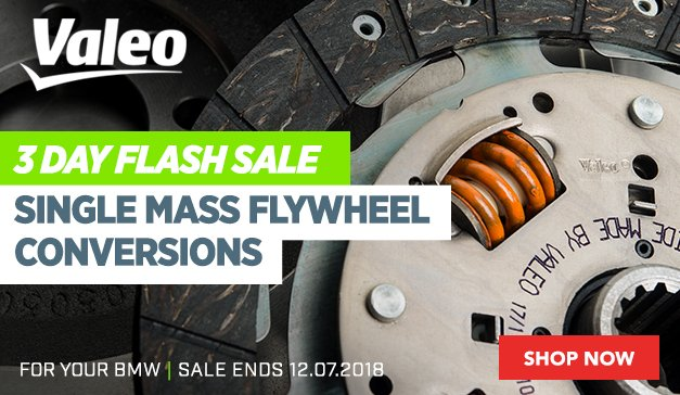 3 Day Flash Sale - VALEO SINGLE MASS FLYWHEEL CONVERSIONS
