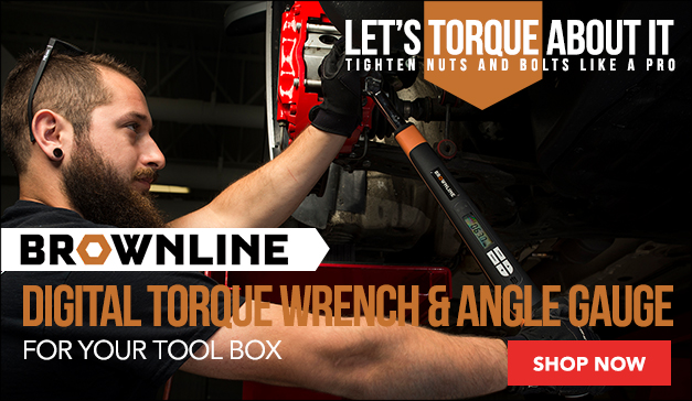 Brownline Digital Torque Wrench and Angle Gauge