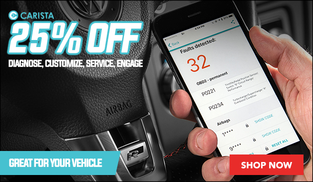Carista Obd2 Dongle 25% off