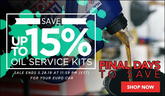 General - ABE Sale - Oil Service Kits up to 15%