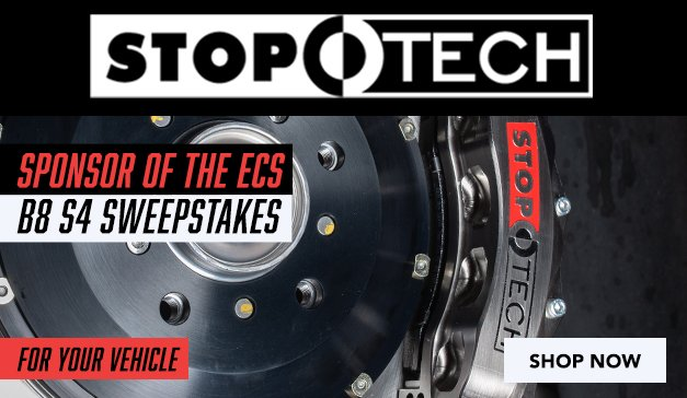 Generic - STOPTECH Brake Upgrades (B8 Sweepstakes)