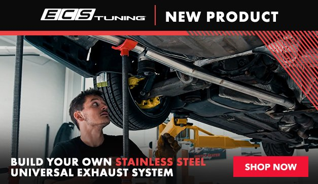 General - New ECS Build Your Own Stainless Steel Universal Exhaust Program