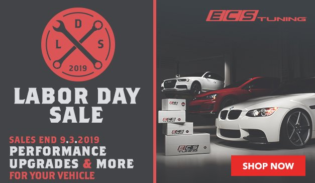 ECS Labor Day Sale - Huge Discounts On Performance Upgrades And More