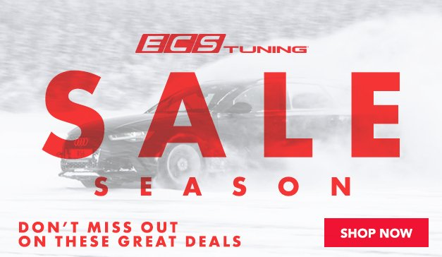 It's Sale Season at ECS - Don't Miss Out On These Great Deals