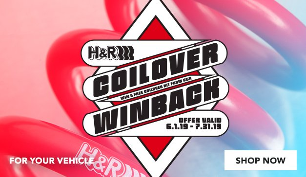 H&R Coilover Winback Sweepstakes