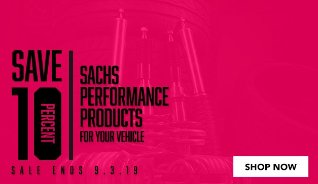 GENERIC - 10% Off SACHS SALE