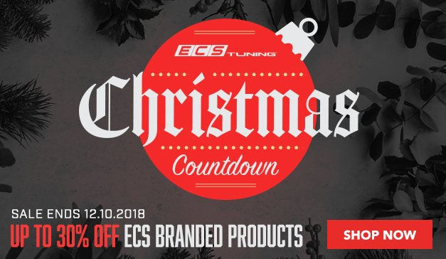 Up to 30% ECS Branded Products 4 days only - Sale Ends 12.10.18