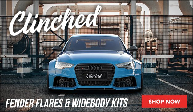 Widebody Kits, Fender Flares, and More from Clinched!
