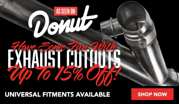 Generic - Donut Media Exhaust Cutouts