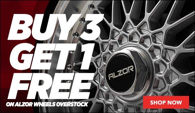 Audi - ALZOR BUY 3 Get 1 Free